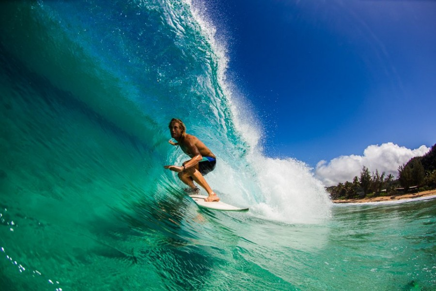 North Shore Patagonia surf ambassador. Pic: Heather Yeager