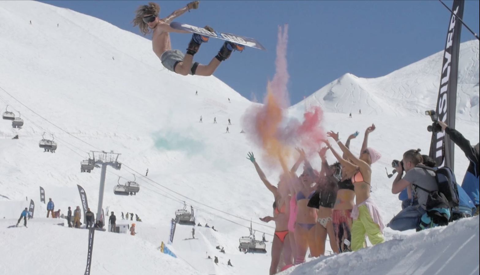 ... Snowboarders Don't Party Enough? | Even Olympic curlers dope more