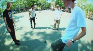 alex olson vogue fashion skate video hacky sack