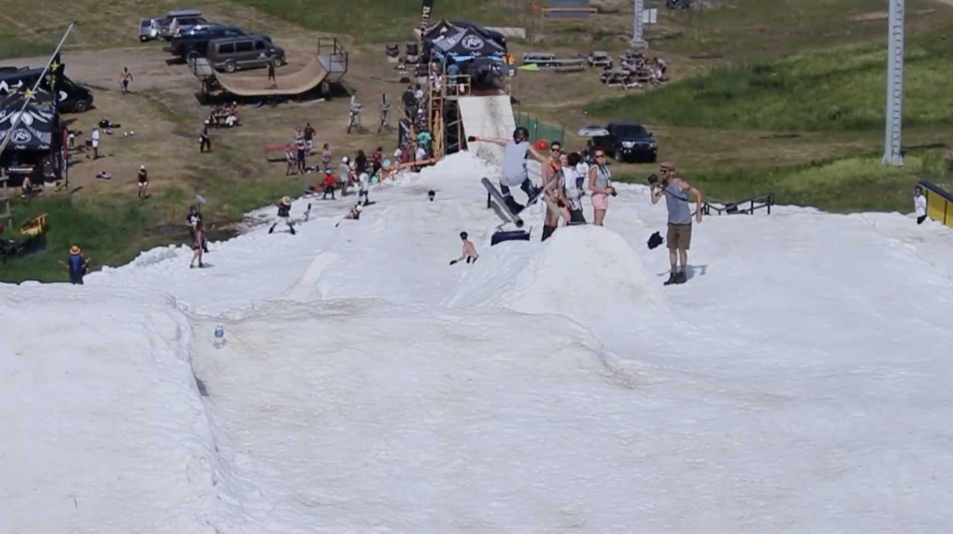 summer snowboarding quebec - BOARD RAP