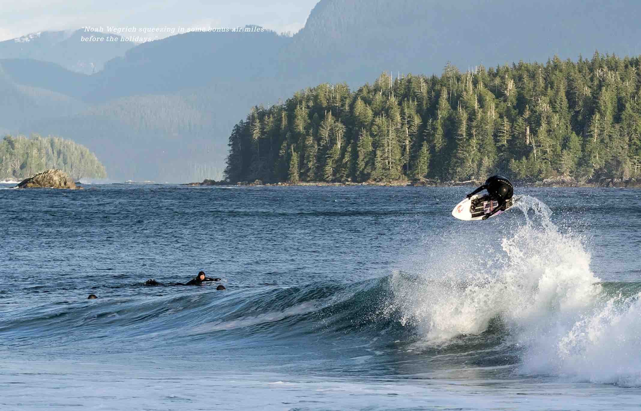 Vancouver Island Surf Report