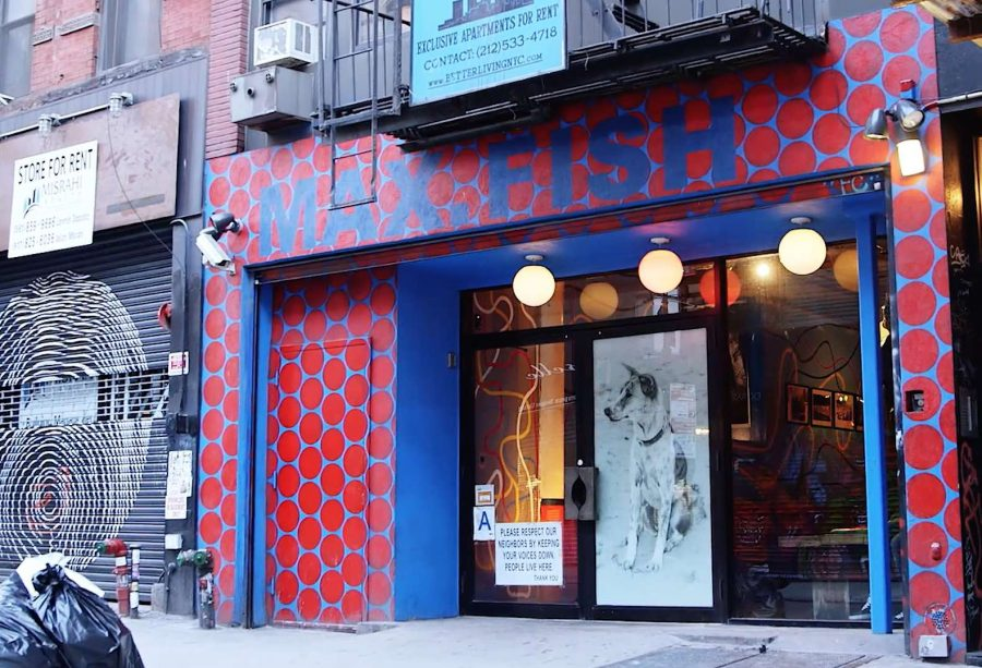 Best new york dive bar board rap for Fish bar nyc
