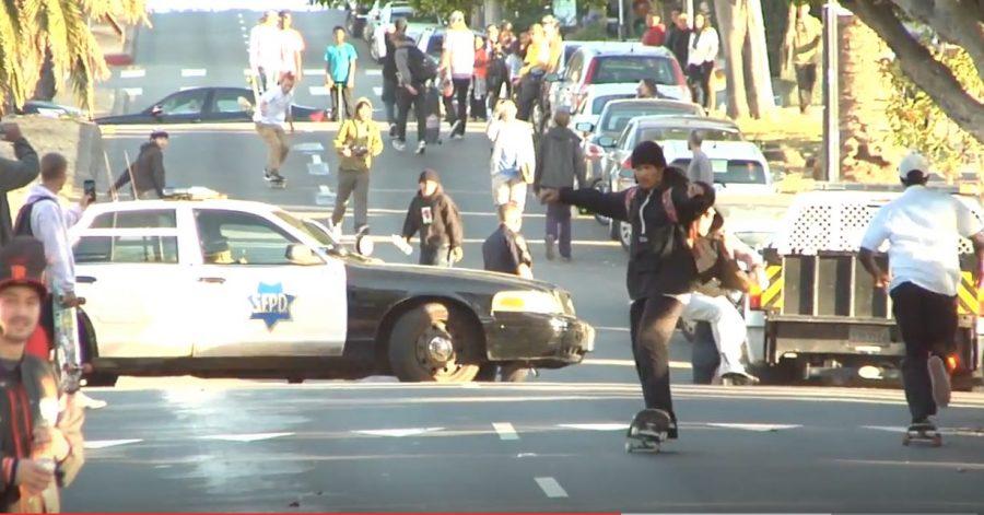 Skaters VS. Cops: A Hill Bomb Love Story