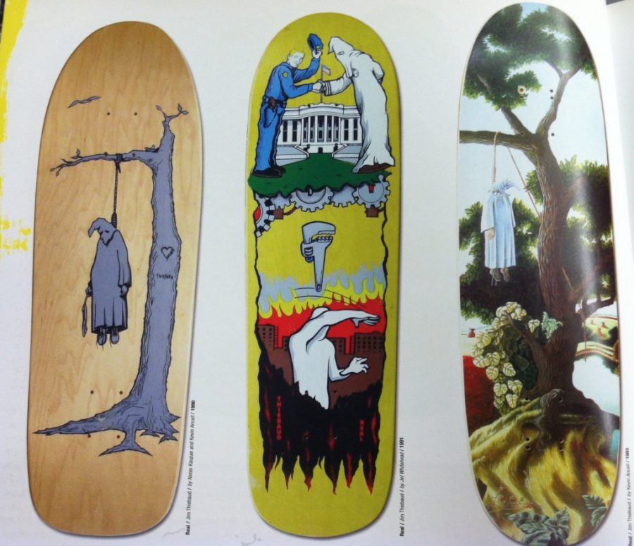 Revisiting the Hanging K.K.Klansman Skateboard Graphic | Originated bc of events similar to Charlottesville