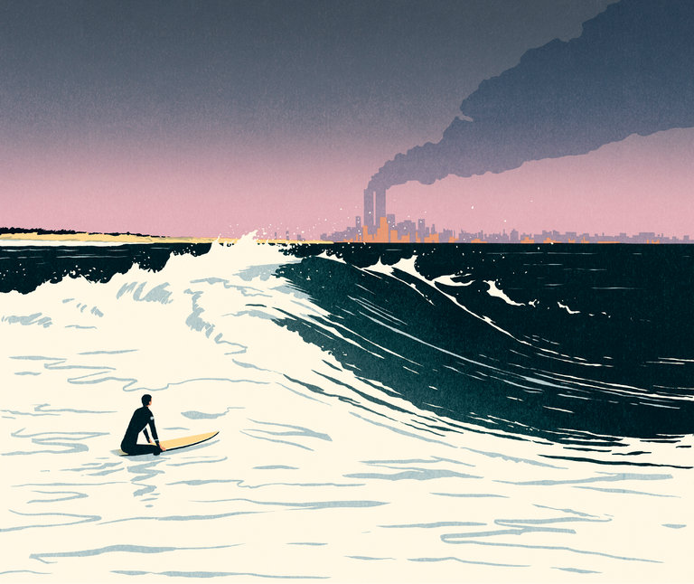 Not Surfing On 9/11 | When perfect waves + tragedy overlap
