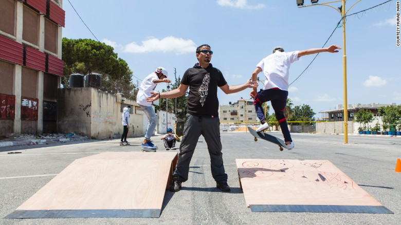 skateqilya west bank skateboarding saves | BOARD RAP