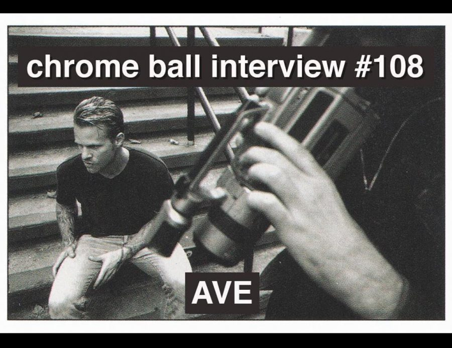 """A.V.E Gets Chrome Ball'd   """"I'd party super hard + then convalesce by ordering pizzas, eating macaroni + cheese and pints of ice cream."""""""