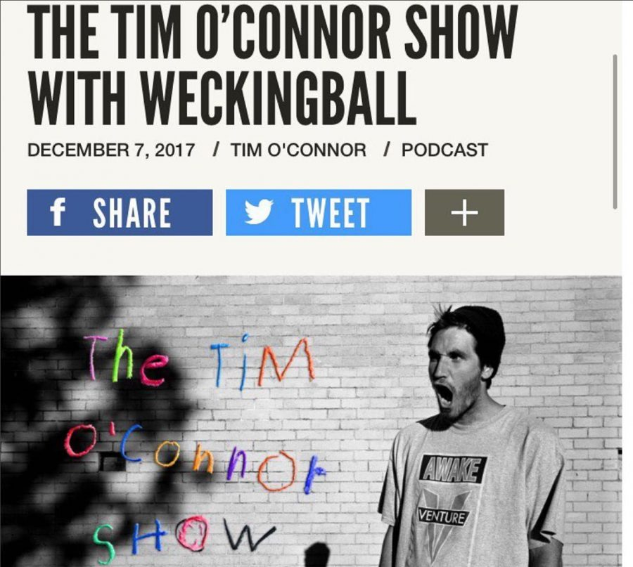 """Wecking Ball aka the 'Most Jacked Skater' Goes Buck on The Tim O'Connor Show   """"I will die for 'F_ck Berra.'"""""""