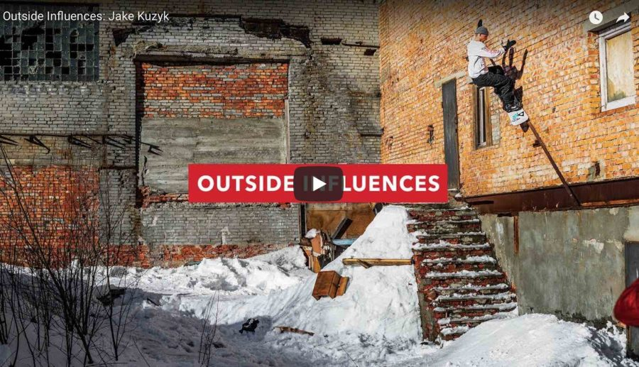 Jake Kuzyk's Outside Influences | Skateboarder trapped in body of a pro snowboarder