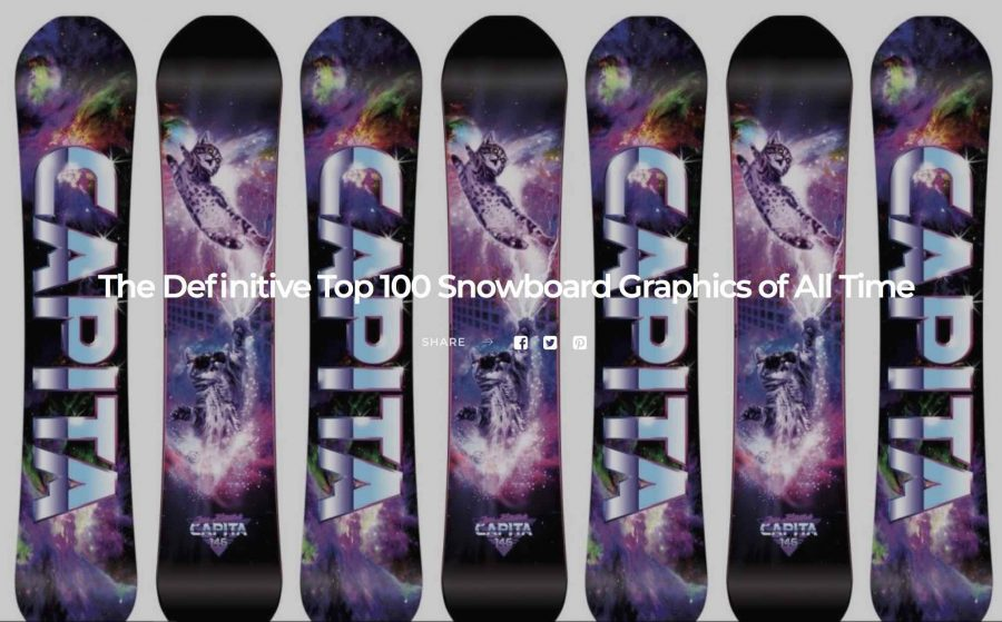 Top 100 Snowboard Graphics Of All Time….. Again.