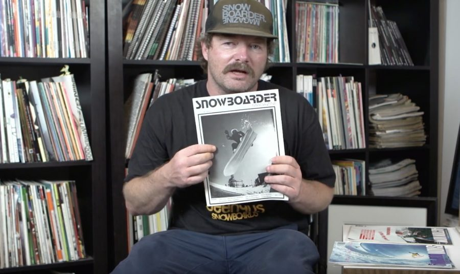 The History of Snowboarding Media | Picking through the archives w/ Pat Bridges as print disappears