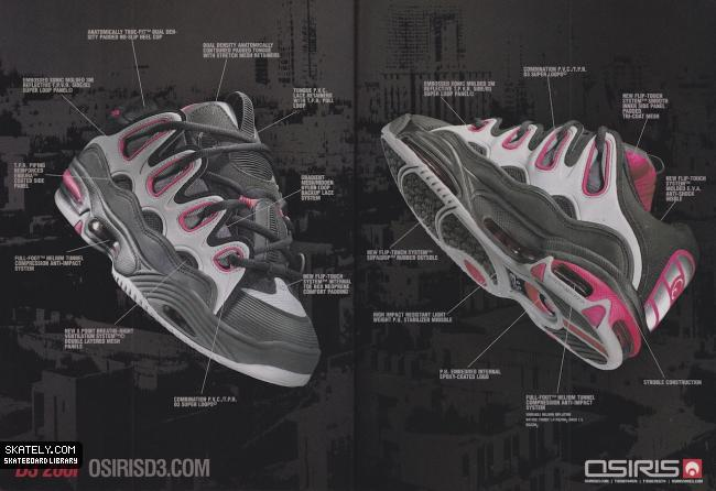 """The Real Story of the Best Selling Skate Shoe Ever: Osiris D3 