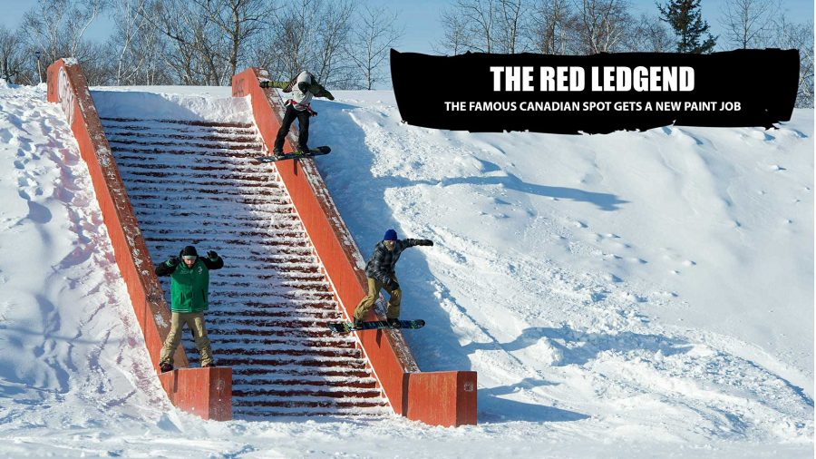Red Ledge Will Never Die | Celebrating the new paint job by looking back