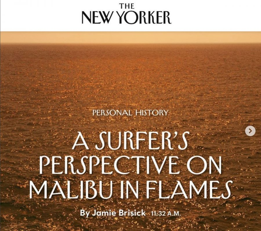 A Surfers Perspective on Malibu in Flames | Jamie Brisick creates poetry out of loss