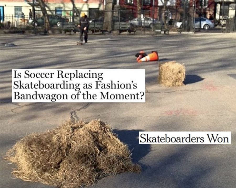 The QS 2018 Skateboarding Year in Review Begins | Fashion only wanted into skateboarding to use parks as catwalks