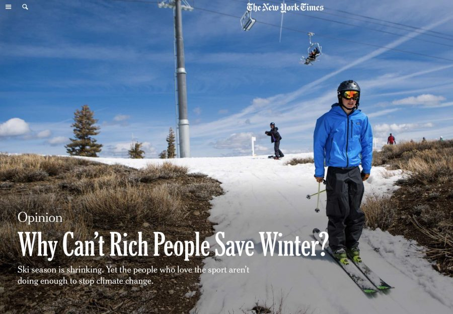 We're Not Doing Enough to Save Winter