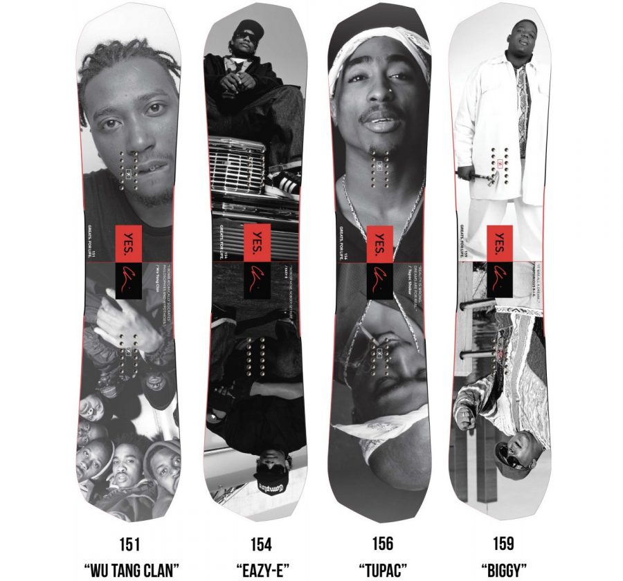 Notorious B.I.G's Family Sue YES. Snowboards