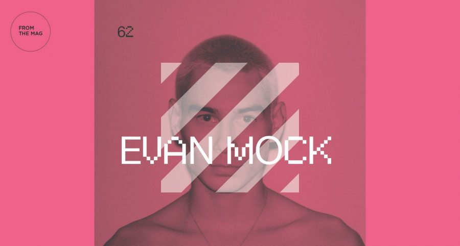 "Evan Mock VS. Evan Mock | ""I'm on a plane to LA for 24-hours, shooting for Dior,… """