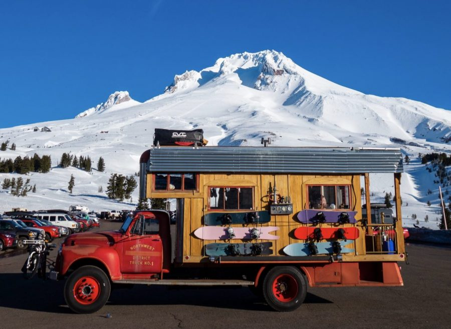 "#FireTruckLife to Alaska w/ Austin Smith | ""… a hippie commune stacked on top of a vintage hot rod firetruck."""