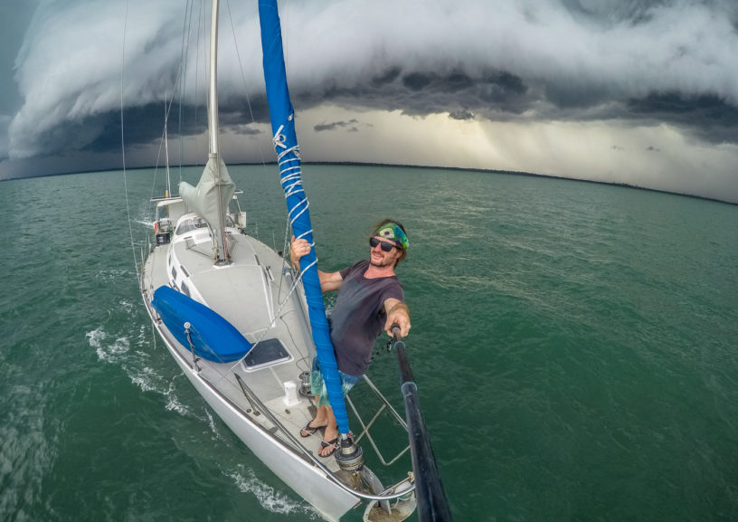 Sailing Around The World Solo w/ Volcom's Staff Photographer