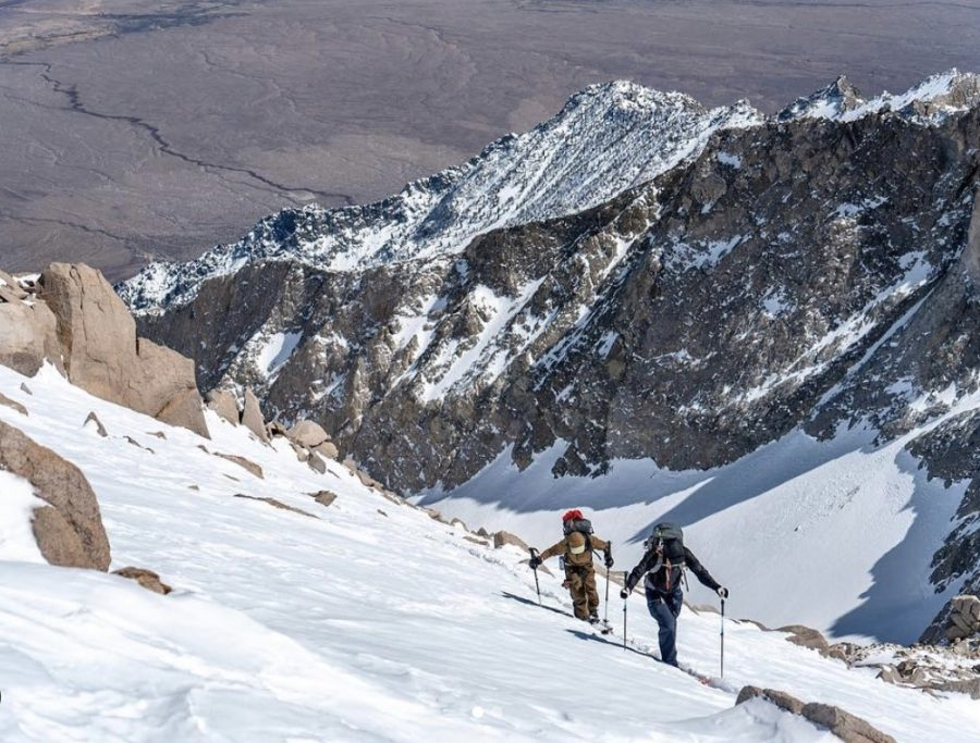 Snowboarders + Skiers Unite to Tackle Classic California Line